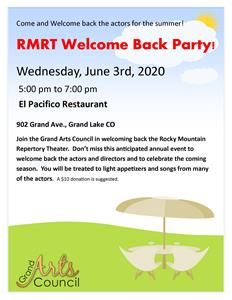 Welcome Back Rocky Mountain Repertory Theatre